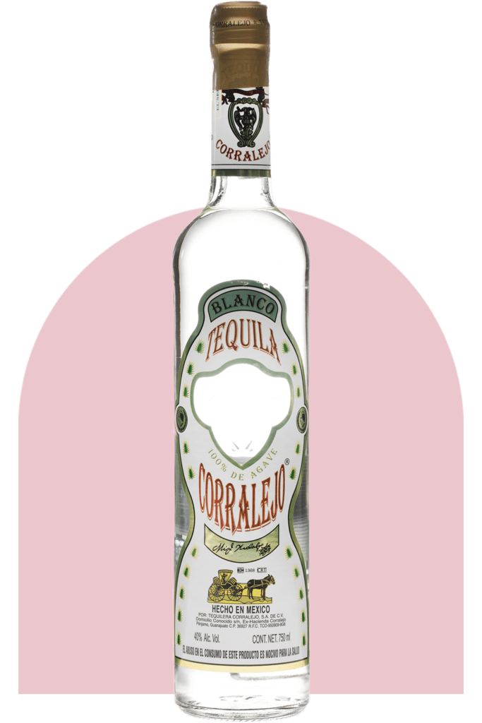Corralejo Tequila Blanco 750ml - Pink