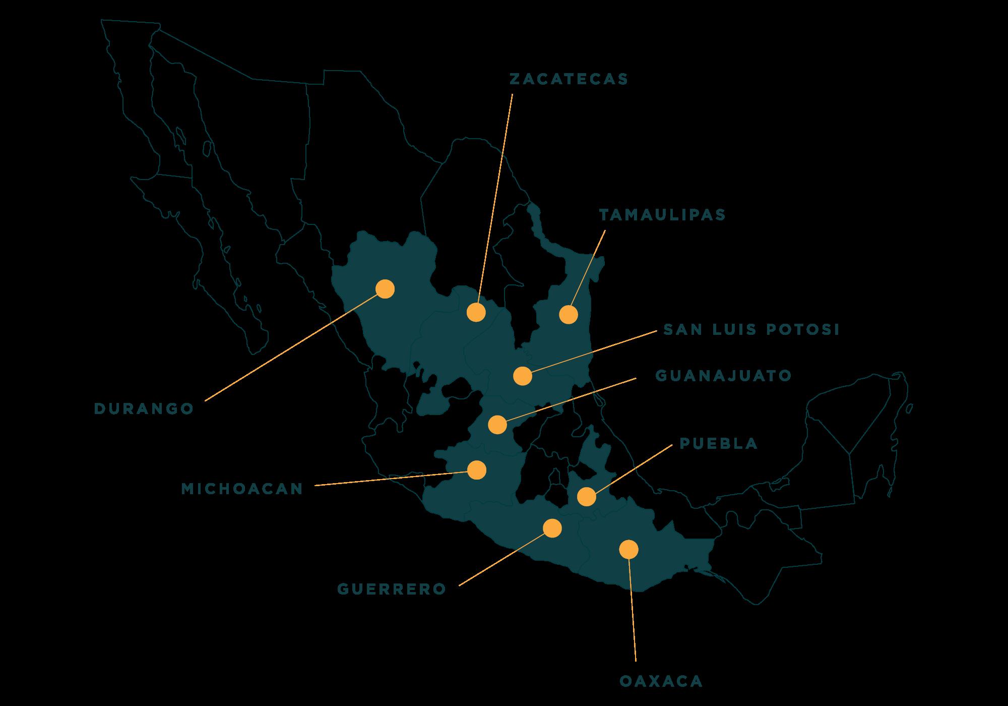 Mezcal Denomination of Origin - Mexico